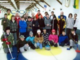 2010-2011 season junior curlers and coaches