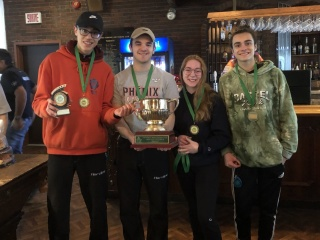 2020 Leprechaun Bonspiel winners